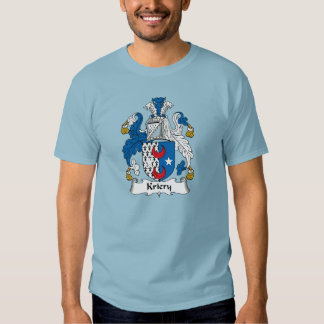 Kriery Family Crest T Shirts