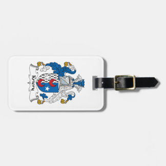 Kriery Family Crest Tag For Luggage
