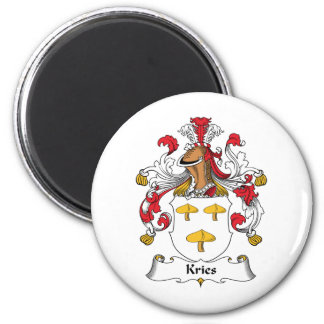 Kries Family Crest Fridge Magnet