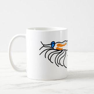 krill classic white coffee mug