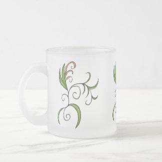 Kringel 2 frosted glass coffee mug