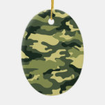 Kris alan Camouflage Christmas Ornament