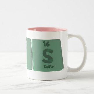 Kris as Krypton Iodine Sulfur Coffee Mugs