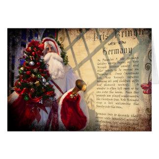 Kris Kringle Card