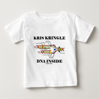 Kris Kringle DNA Inside (DNA Replication) Baby T-Shirt