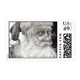 Kris Kringle Stamp