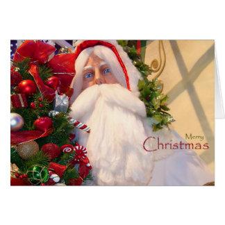Kris Kringle  /Santa Claus/ Christmas Card