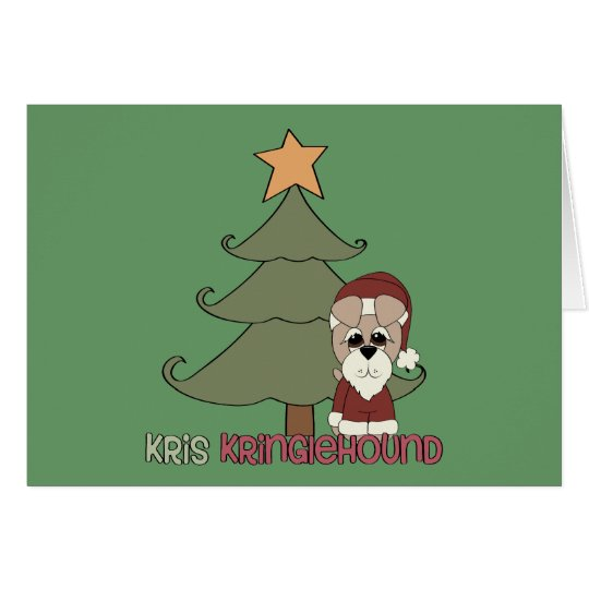 Kris Kringlehound Card
