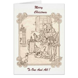 Kris Kringle's Kitty Card