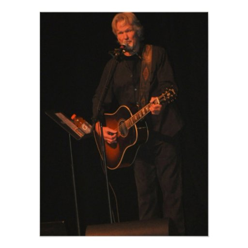 Kris Kristofferson en concierto agosto de 2012 Impresiones