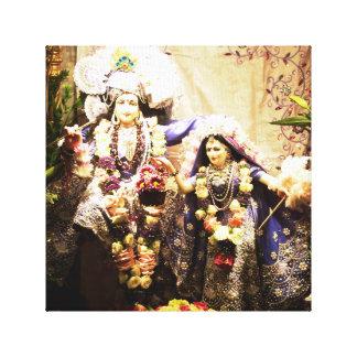 Krishna and Radha Canvas Print