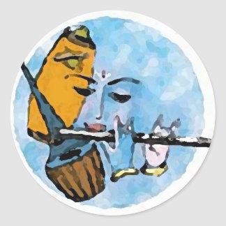 Krishna Band Sticker