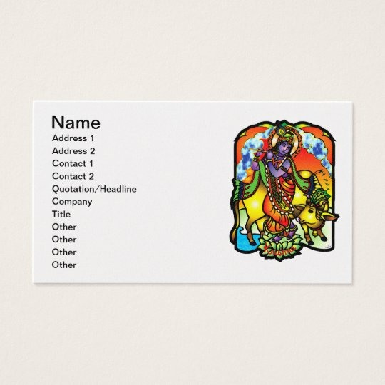 Krishna Business Card