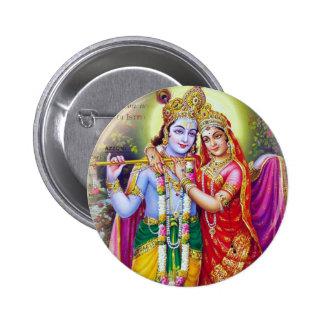 Krishna Pinback Button