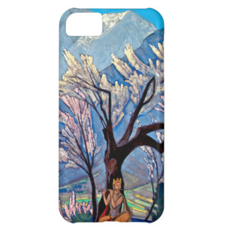 Krishna by Nicholas Roerich (detail) iPhone 5C Cases