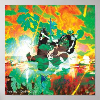 Krishna ~ Divine Child Poster