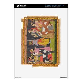 Krishna lifting Mount Govardhana, from the 'Bhagav iPad 3 Decals