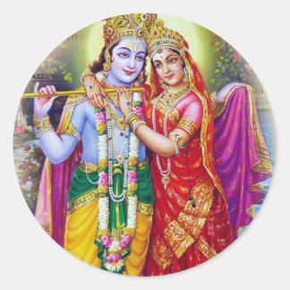 Krishna Pegatina Redonda