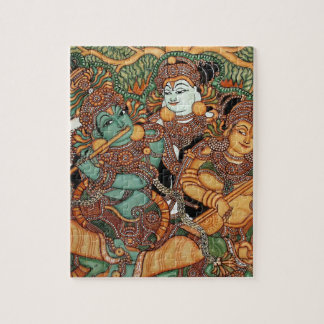 KRISHNA PLAYING THE FLUTE JIGSAW PUZZLE