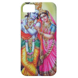 Krishna y Radha, cubierta divina del teléfono iPhone 5 Carcasa