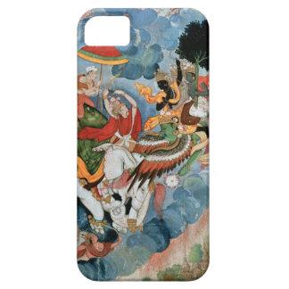 Krishna's combat with Indra, c.1590 iPhone SE/5/5s Case