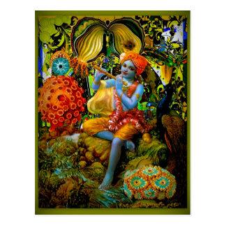Krishna's Flute Postcard