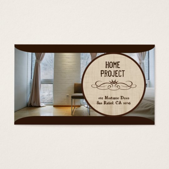Krissy's Home Project Business Cards