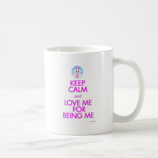 Krist mantiene tranquilo para amarme taza de café