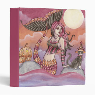 Krista - Halloween Mermaid Binder
