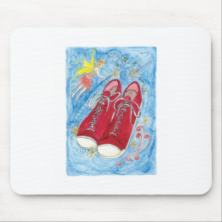 Krista-Link-a-La and the Size 13 Shoes Mouse Pad