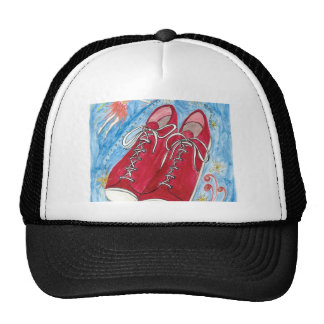 Krista-Link-a-La and the Size 13 Shoes Trucker Hat