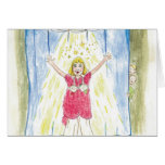Krista-Link-a-La & the Size 13 Shoes Curtain Call Greeting Card