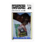 Krista Orangutan Fashion Designer Stamp