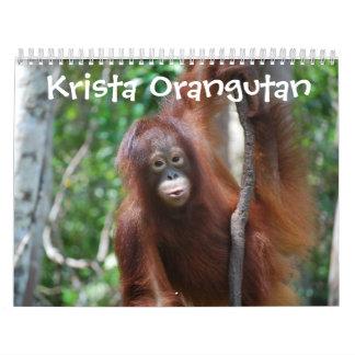 Krista Orangutan Jungle School Calendar