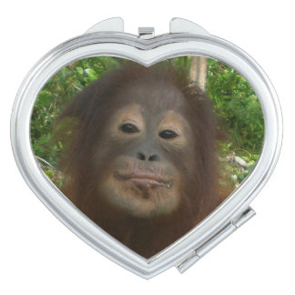 Krista Orangutan Lips for Kissing Makeup Mirror