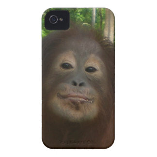 Krista Orangutan mugshot Case-Mate iPhone 4 Case