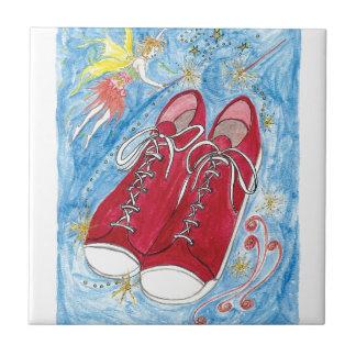 Krista-Vínculo-uno-La y los zapatos de la talla 13 Azulejo Cerámica