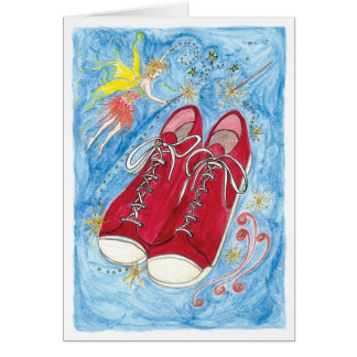 Kristalinkala and the size 13 red shoes card