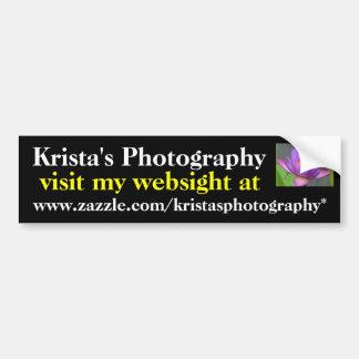 Kristas Photography Bumper Sticker #13  1313