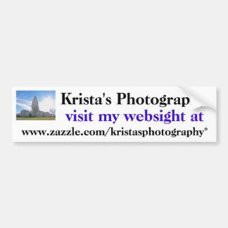 Kristas Photography Bumper Sticker #21 2121