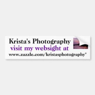 Kristas Photography bumper sticker #7  70