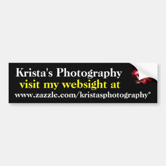 KristasPhotography bumper sticker #11 1111