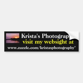 KristasPhotography bumper sticker #14  1414