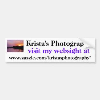 KristasPhotography bumper sticker #15  1515