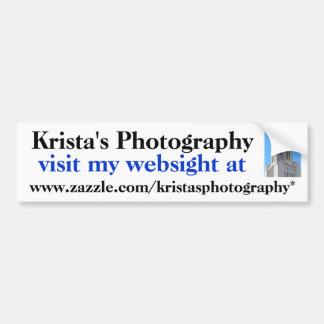 KristasPhotography bumper sticker #16  1616