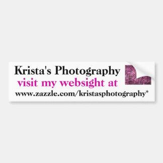 KristasPhotography bumper sticker #26  026