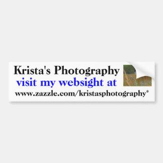 KristasPhotography bumper sticker #3  3030