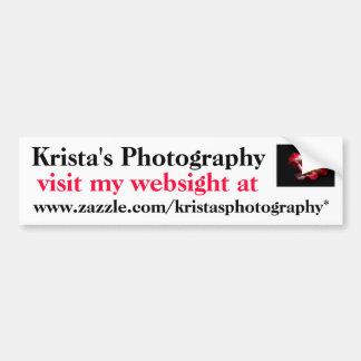 KristasPhotography bumper sticker #6 6060