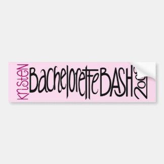 Kristen Bachelorette Bash 09 Bumper Sticker