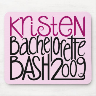 Kristen Bachelorette Bash 09 Mouse Pad